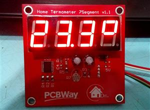 How to make simple digital home thermometer