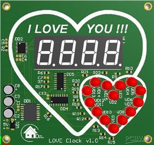 Love Clock ver1.0