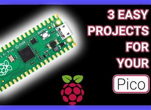 Morse Code, Music, and Temperatures - 3 Easy Pico Projects for Beginners