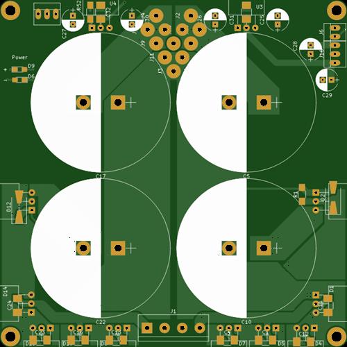 power module for audio amplifier