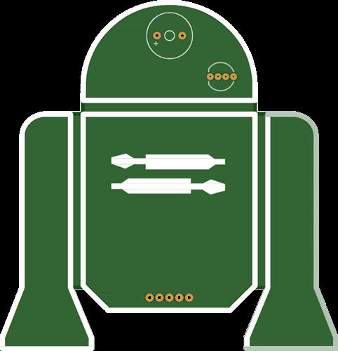 R2D2 (minimalist)