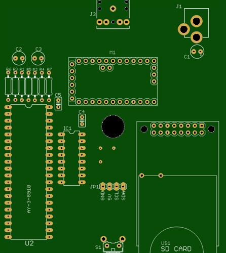 AY-3-8910 Player Arduino OLED