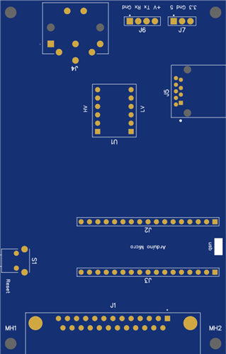 MiSTer C64 IEC and C128 Keyboard Adapter