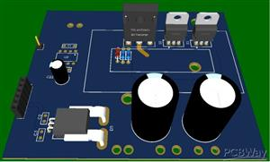 DC high power source - DC high current (Arduino)