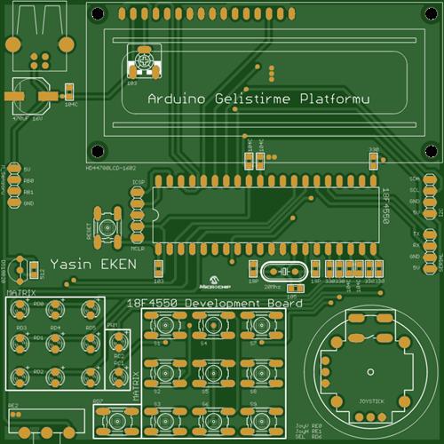 18F4550 Microchip Development Platform