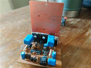 Class D amplifier scalable in power from 25w to 1200w