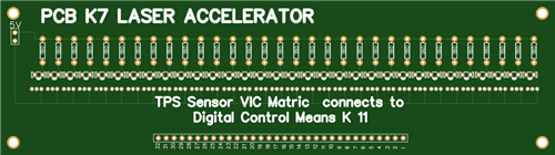 Stanley A Meyer k7 Photo Diode Digital Accelerator board
