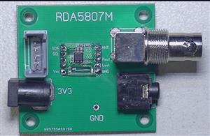 RDA5807M module evaluation board