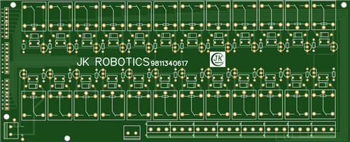 Relay Module of 24 Relays