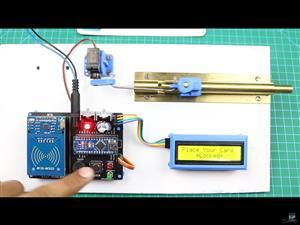 RFID Door Lock System by Saksham Khurana