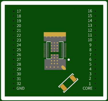 PCB for Asic BM1387 (1397)