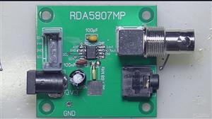 RDA5808 evaluation board