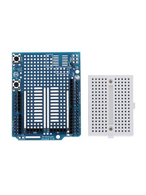 ProtoShield Prototype Expansion Board with Mini Breadboard