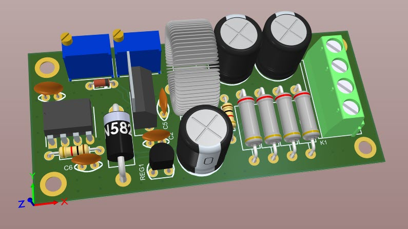 FIG4-How to build an adjustable switching power supply using LM2576 [Buck Converter, CC-CV].jpg