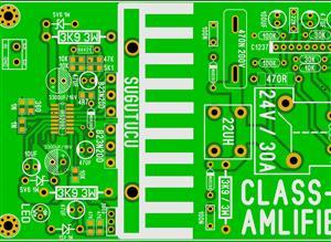 CLASS-D 800W AMPLIFIER MOSFET