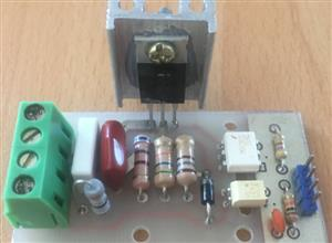How to build an isolated digital AC dimmer using Arduino