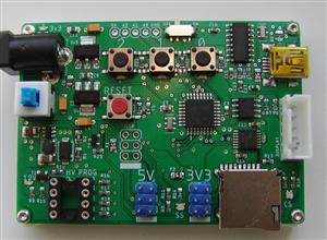 AVR Programmer W/High Voltage-328pb v1.5