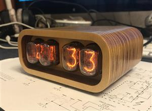 Nixie Clock IN-12 & ESP12(ESP8266) WiFi