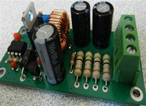 How to build an adjustable switching power supply using LM2576