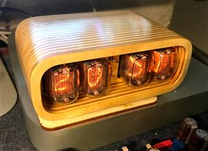Nixie Clock IN-12 & ESP12(ESP8266) WiFi v2