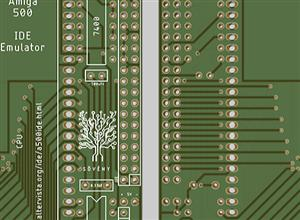 Amiga 500 IDE Emulator