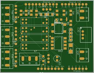 DCC shield for Arduino Uno