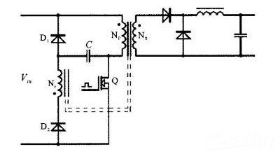三种类型的开关电源缓冲电路