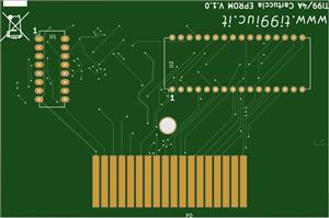Universal 512k cartridge TI99