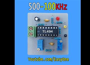 TL494 PWM Controller Frequency 500-100kHz | Schematic + PCB