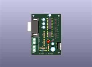 Communication RS232 to RS485