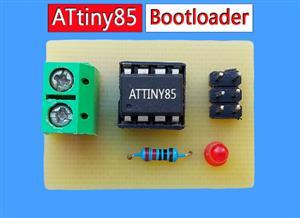 Attiny85 Bootloader using USBasp  | Tutorial