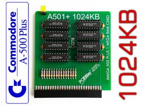 Amiga 500 Plus 1MB Memory Expansion Board