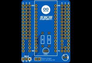 Arduino Nano SBUS Inverter Shield