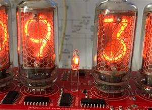 Nixie Clock IN-8-2 & ESP12(ESP8266) WiFi