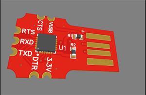 CP2102 Based USB_Serial Programmer