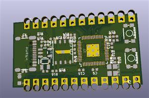 RP2040 Dev Board with SPI flash