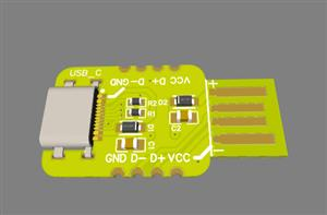 USB-A / USB-C Breakout Board