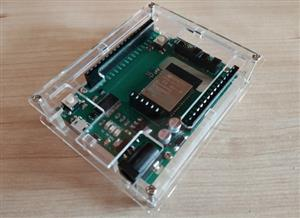 ESP-32 board on Arduino footprint