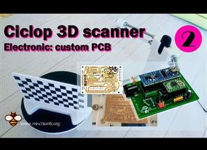Ciclop 3D scanner board v1.2