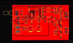 50+50 watt audio amplifier