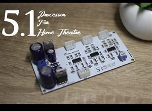 5.1 processor for home theatre