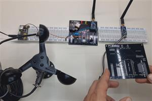 Build your own long-range weather station with Lora GPS anemometer module