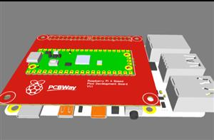 Raspberry Pi Pico Development board for Raspberry Pi 4