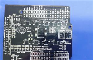 Build your own Optically Isolated 8 DI Arduino Shield