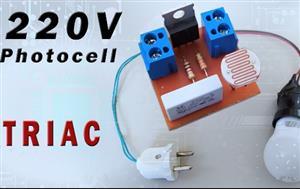 220V Photocell with Triac