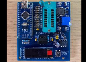 Dram tester for 4116 and 4164/256