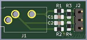 Audio Jack board v0r2