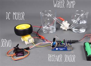 DIY Automatic Plant Watering System with 2 in 1 board