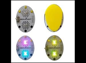 Werable/Sewable RGB led badge