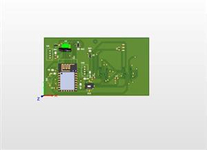 Daichi WiFi board with 7 segment LED indicator